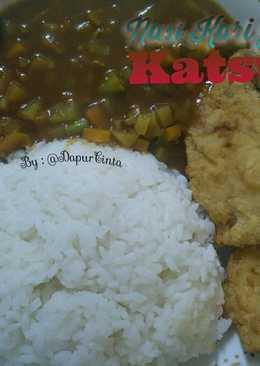 Nasi Kari Jepang + Katsu