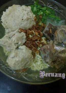 Bakso isi telur puyuh