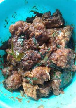 Ayam Rica-rica pedasnya poollll
