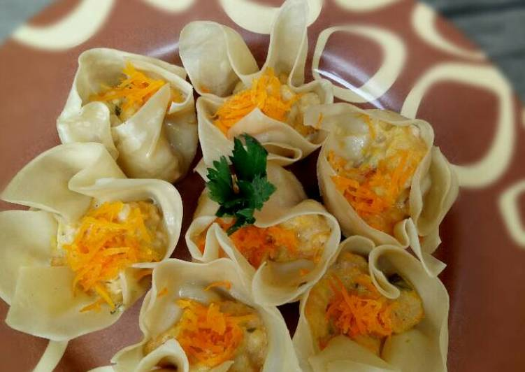 Resep Dimsum / siomay ayam udang - Mommy Rey