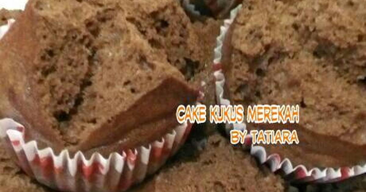 Resep CAKE kukus merekah