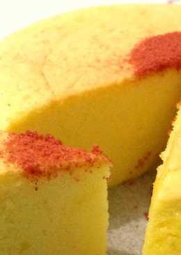 Japanese cotton cheese cake - tanpa cream cheese