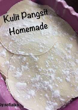 Kulit Pangsit Homemade Takaran Sendok