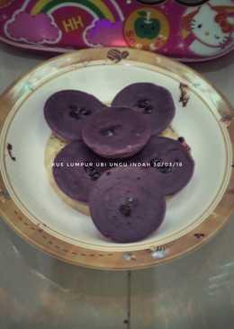 Kue Lumpur Ubi ungu
