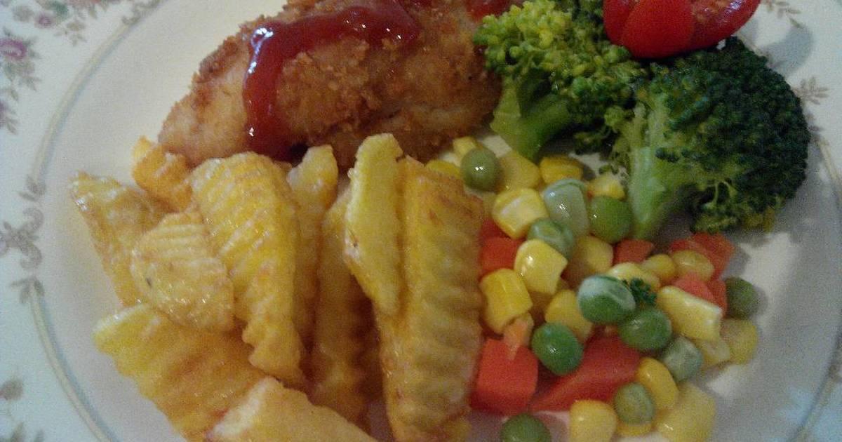 3 resep fish and chips sehat enak dan sederhana - Cookpad