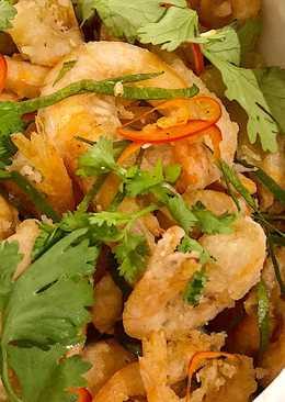 Anak udang goreng /Baby shrimp
