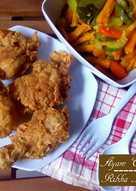 Ayam Crispy dengan Tepung Bumbu Homemade No MSG