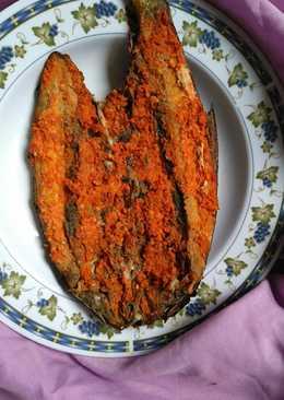 Bandeng bakar (isi sambal)
