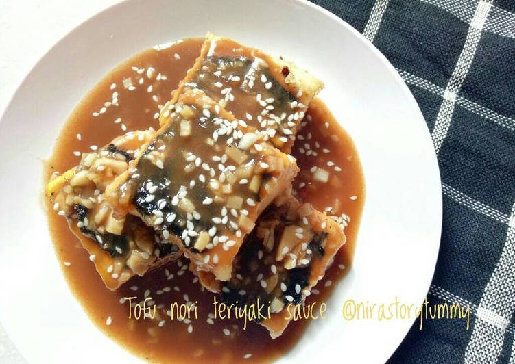 Resep Tofu nori teriyaki sauce Oleh Nirastorytummy