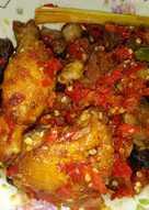 Ayam ati ampla balado