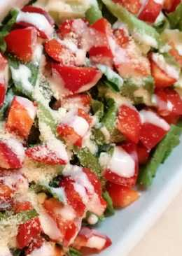 Salad Lettuce dan Paprika 🥗