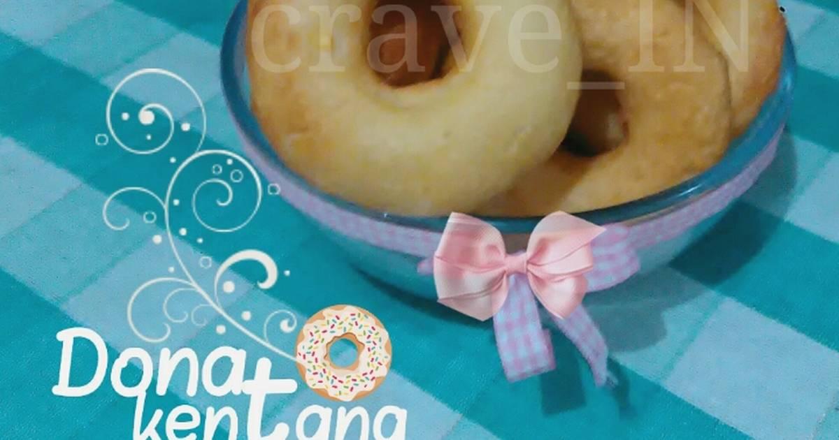 Resep Donat Kentang Murce oleh CraveIN - Cookpad