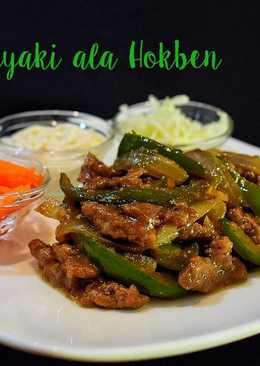 Beef Teriyaki (ala Hokben)