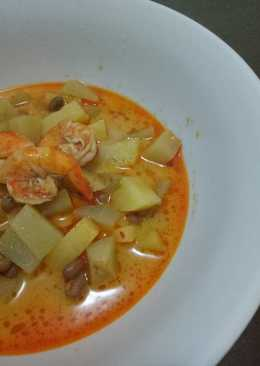 Image result for Sup Kentang Kacang Polong udang