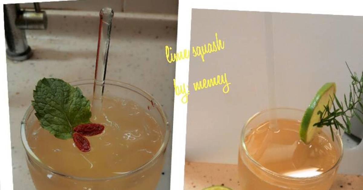 Resep Lime squash segar