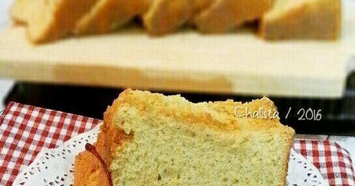 Resep Chiffon cake gula jawa