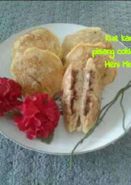 Kue kamir pisang coklat keju #PR_tapedeeh