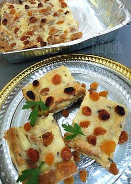 12. Puding Roti Tabur Kismis