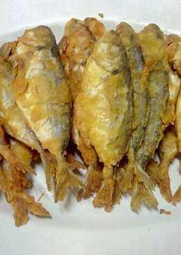Ikan goreng tepung serbuk karri