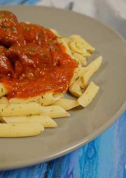Penne with tomato sauce #pr_pasta