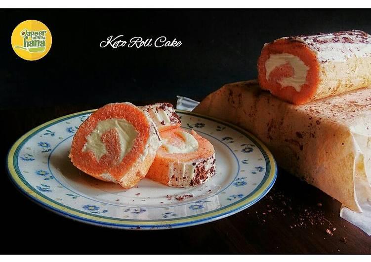 Resep Cake Keju Keto: Resep / Cara Membuat Keto Roll Cake