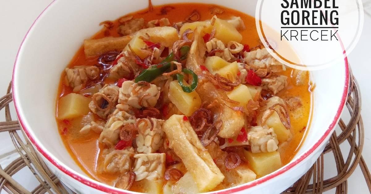 37 resep sambal goreng krecek tahu tempe enak dan ...