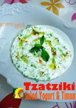 TZATZIKI Salad Timun & Yoghurt