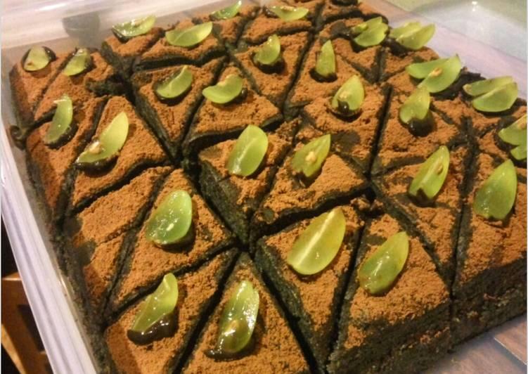 Resep Cake Kukus Ketan Hitam Jtt: Resep Cake Ketan Hitam Kukus No Margarin Oleh Melati's