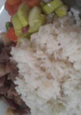 Nasi uduk cepat