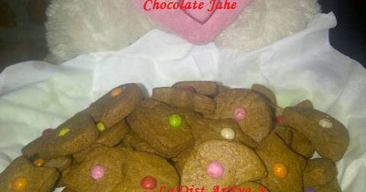 Resep Cookies Chocolate Jahe