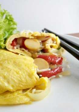 Tamagoyaki (telur gulung Isi)