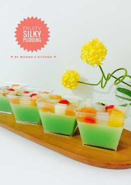 Fruity Silky Pudding
