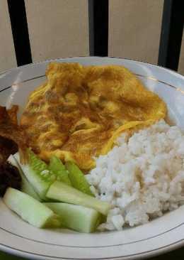 Nasi Uduk (Rice Cooker)