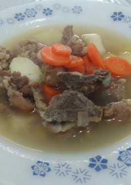 Sup tulang sapi simpel