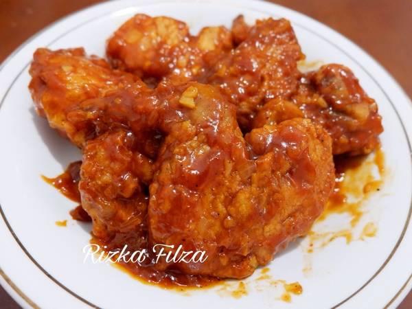 Ayam Goreng Saus Bbq