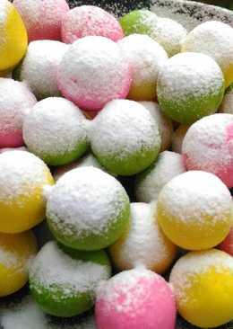 Bola-bola susu (candy milk ball)