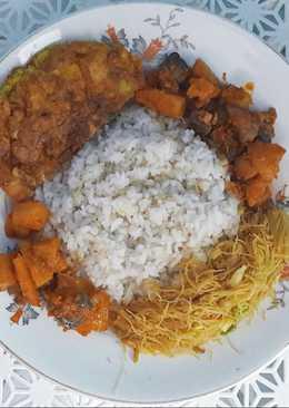 """Nasi Uduk """"Rice Cooker"""""""