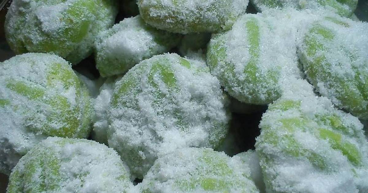 Resep Green tea cookies