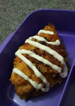 Stuffed chicken katsu