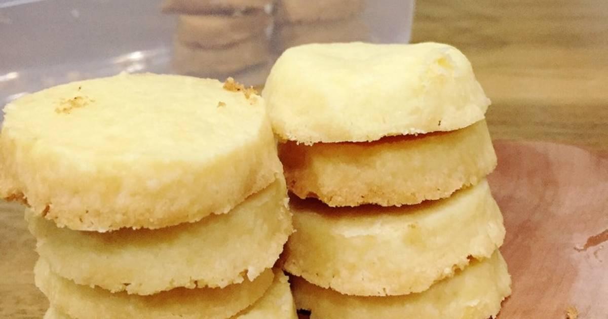 Resep Gluten free Shortbread Cookies