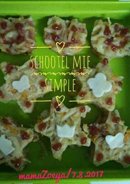 Schootel Mie Simple (Bekal sekolah anak TK)
