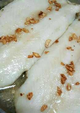 Ikan dori tim sayur asin
