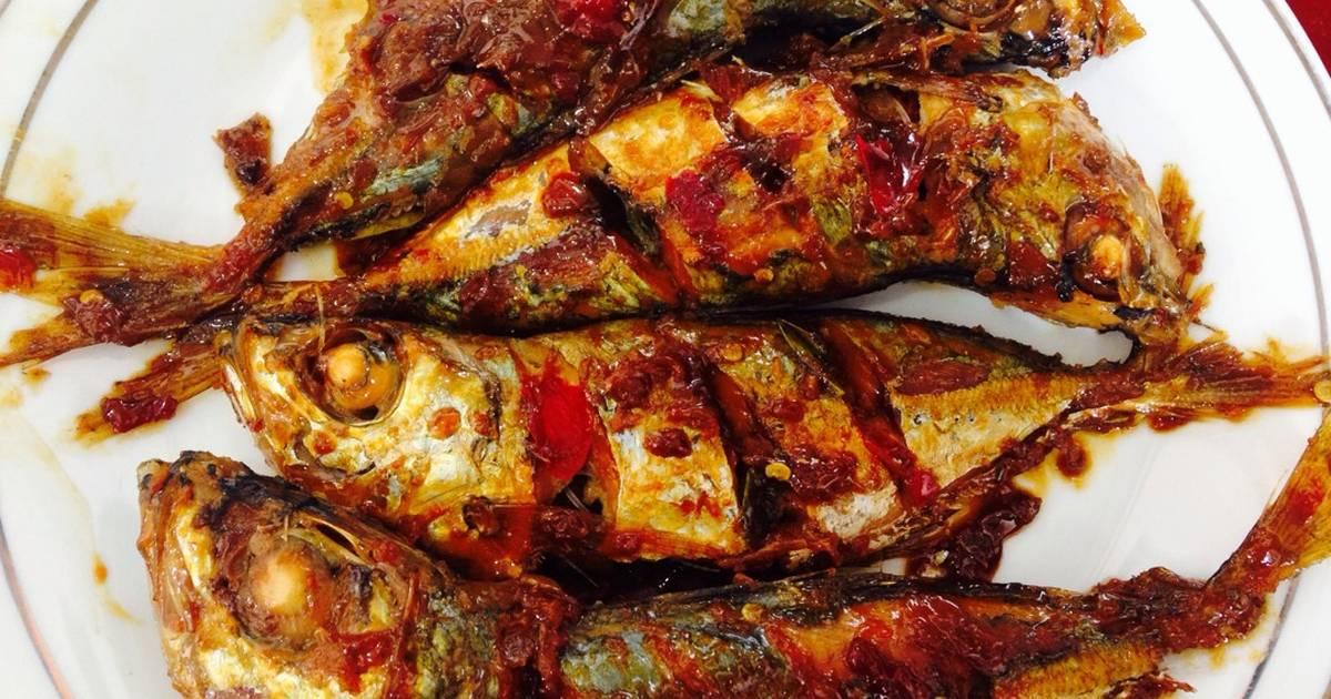 ikan bakar pedas manis   241 resep   cookpad