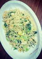 #17 Spaghetti goreng telur & pakcoy #RabuBaru