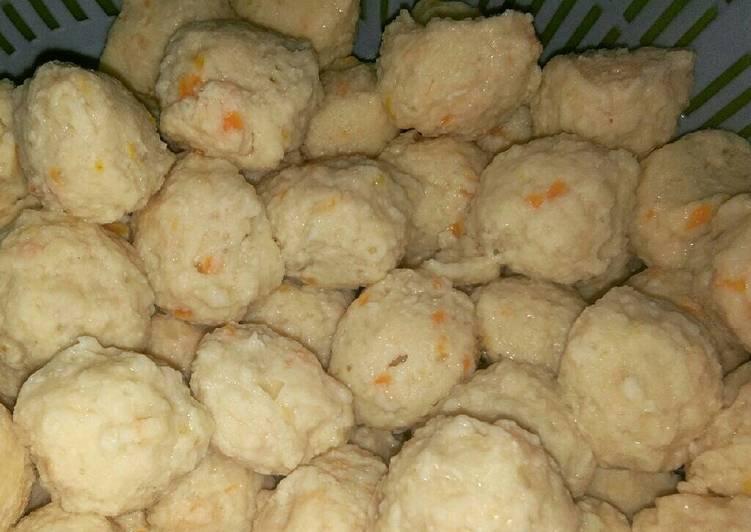 Bakso ayam wortel