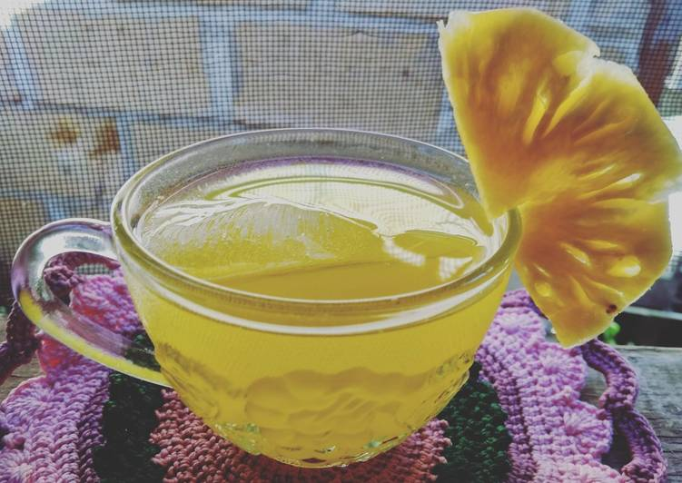 Sirup Nanas (Pineapple Syrup) #BikinRamadanBerkesan