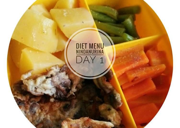 Bahaya Diet Hanya Makan Kentang