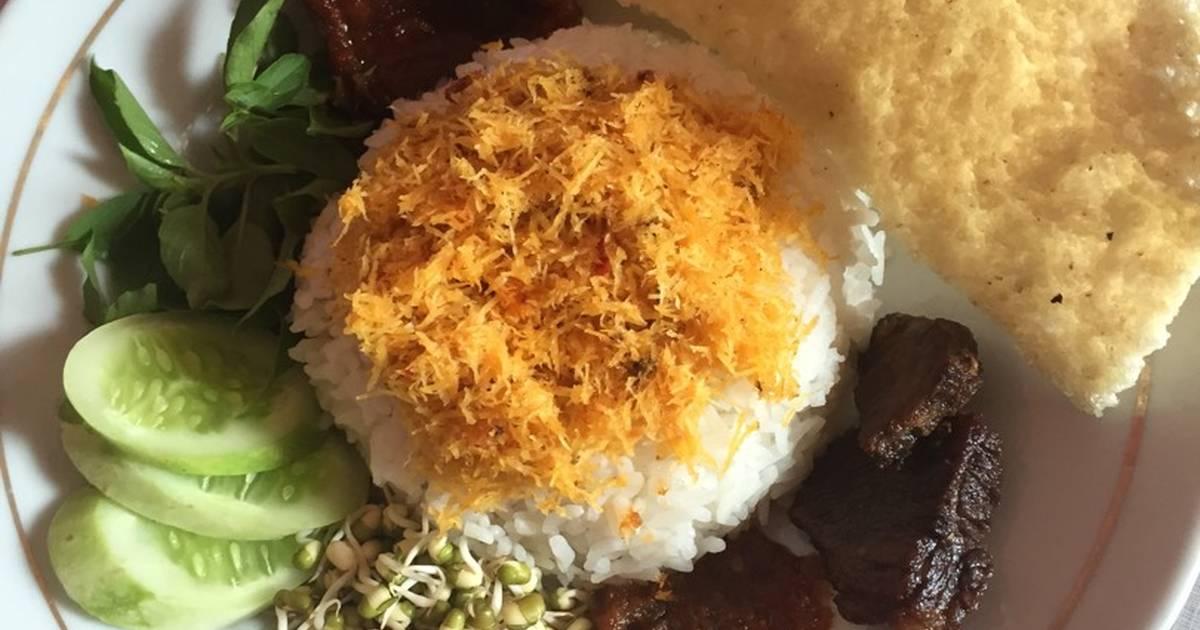 resep nasi ulam ala lyan oleh lyan diamond   cookpad
