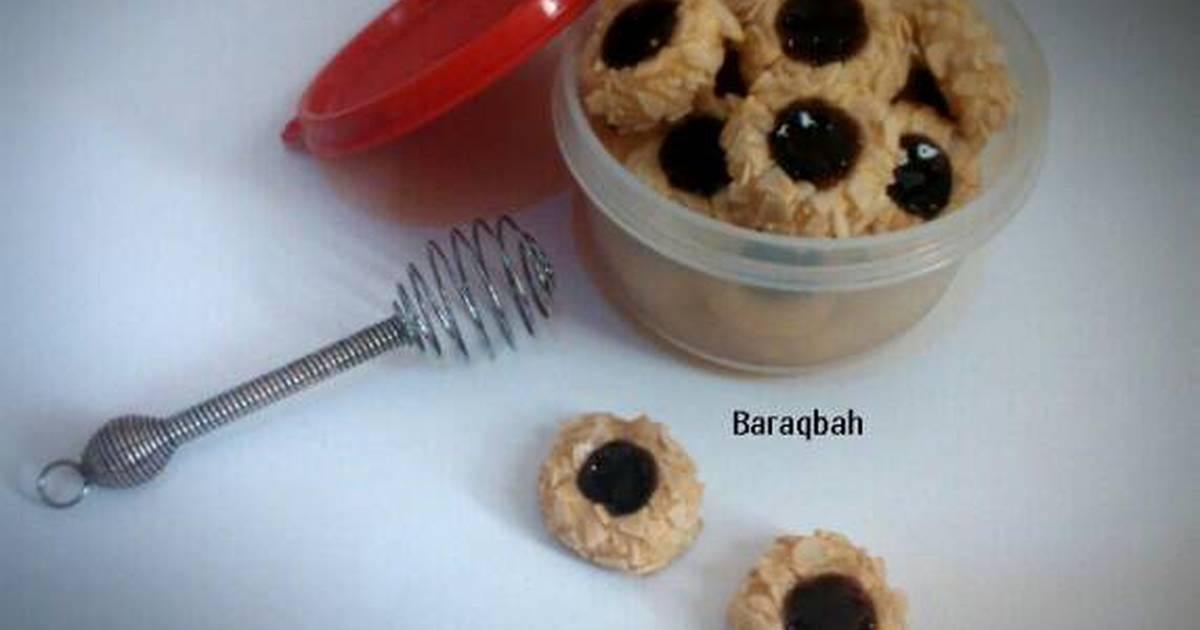 Resep Thumbprint Cookies