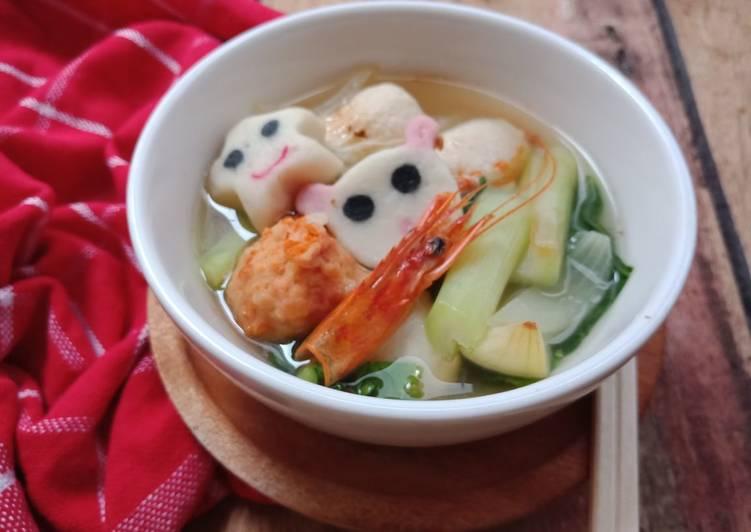 Sup aneka bakso seafood
